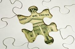 财务难题 免版税库存图片