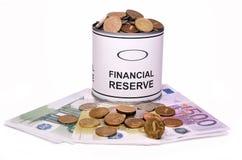 财务预留 免版税库存照片