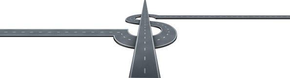 财务高速公路成功 免版税图库摄影