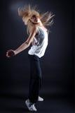 活动舞蹈演员妇女 免版税库存照片