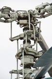 直升机电动子 库存照片