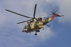 直升飞机营救 图库摄影