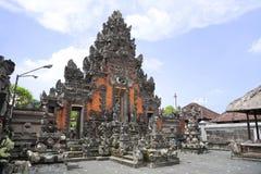 巴厘岛印度尼西亚pande penataran pura ubud 免版税库存照片
