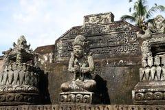 巴厘岛寺庙ubud 免版税图库摄影