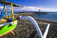 巴厘岛海景 免版税库存图片