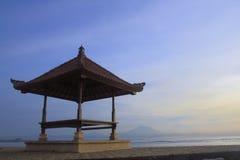 巴厘岛海滩sanur 图库摄影
