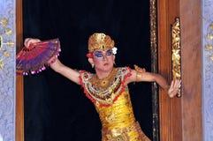 巴厘岛舞蹈演员legong 库存照片