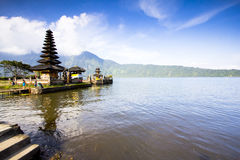 巴厘语寺庙,印度尼西亚 免版税库存照片