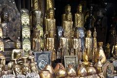巴厘语工艺品 图库摄影