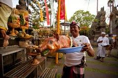 巴厘语新年度日沈默 免版税库存图片