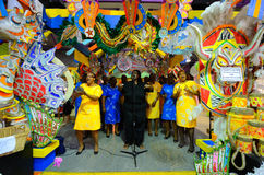 巴哈马群岛的歌唱家 免版税库存图片