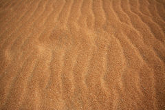 费埃特文图拉岛金黄沙子 库存照片