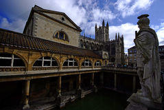 浴城市英国 库存照片