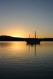 巴塔哥尼亚的湖 库存图片