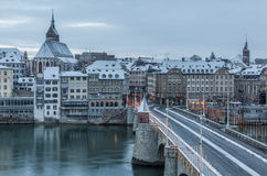 巴塞尔,瑞士 图库摄影