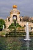 巴塞罗那ciutadella de la parc 免版税库存图片