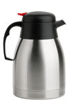 水壶金属喷口热水瓶 免版税库存图片
