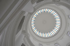 维多利亚女王时代最高限额的玻璃被&# 免版税库存照片