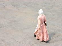 维多利亚女王时代的妇女 免版税库存照片