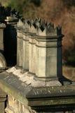 维多利亚女王时代的烟囱管帽 免版税库存照片