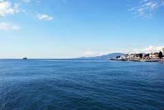 索契海岸 库存照片