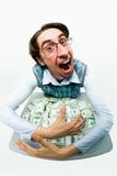 贪婪 免版税库存照片