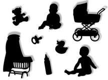 婴孩世界 免版税图库摄影