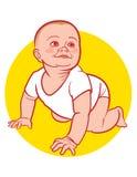 婴孩出生的新 免版税库存照片