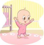 婴孩动画片了解导航结构 图库摄影
