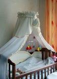 婴孩卧室角落 免版税库存照片
