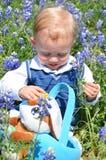 婴孩复活节 库存图片