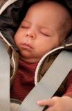 婴孩安全休眠 免版税库存图片