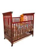 婴孩小儿床等待 免版税库存图片