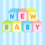 婴孩新的玩具 免版税图库摄影