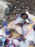 婴孩无家可归者 免版税库存图片