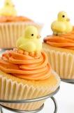 婴孩杯形蛋糕阵雨 免版税图库摄影