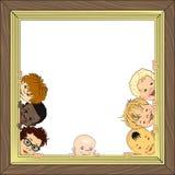 婴孩框架 免版税图库摄影