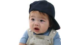 婴孩棒球帽 库存图片