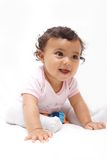 婴孩激动 免版税图库摄影