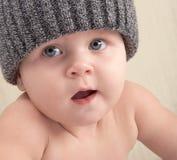 婴孩睫毛 免版税库存照片