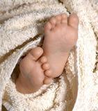 婴孩英尺ii 免版税库存照片