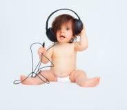 婴孩音乐 免版税库存照片