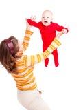 婴孩飞行 免版税库存图片