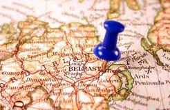 贝尔法斯特北的爱尔兰 免版税库存照片