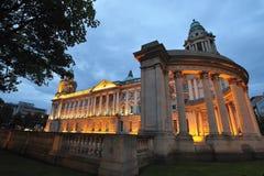 贝尔法斯特市政厅 免版税库存图片