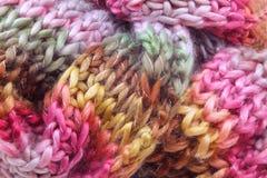 围巾羊毛 库存图片