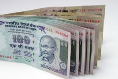 货币印地安人 免版税库存照片