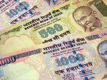货币印地安人 库存照片