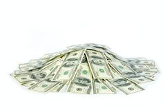 货币堆 免版税库存图片