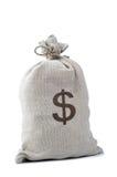货币大袋 免版税库存图片